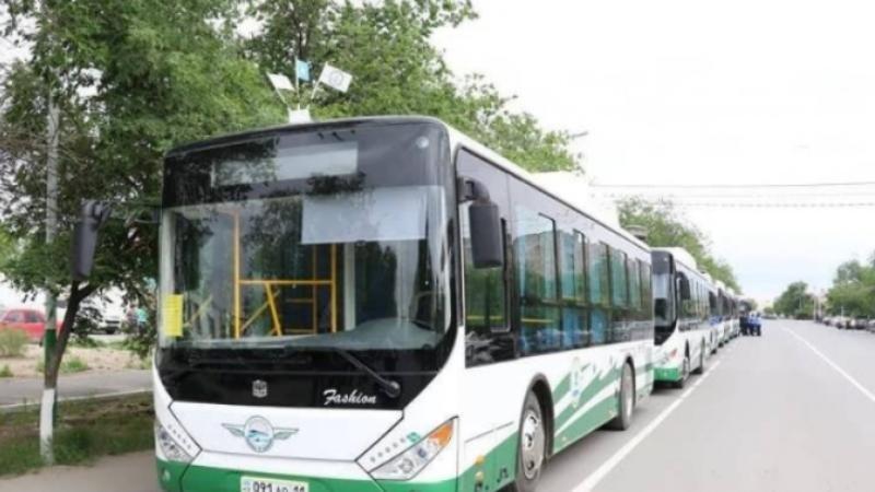 Қызылордада 6800 оқушы автобуста тегін жүреді